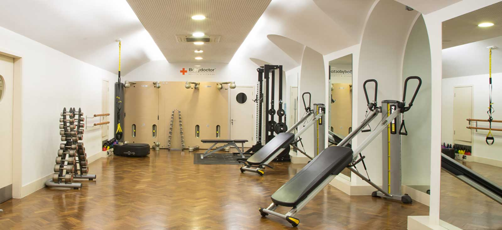 Our Belgravia Fitness Centre, with 1 client at a time we're keeping you safe and fit